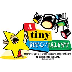 """Kremer's """"A Tiny Bit-O-Talent"""" Talent Show VBS CD.  Save 10%."""